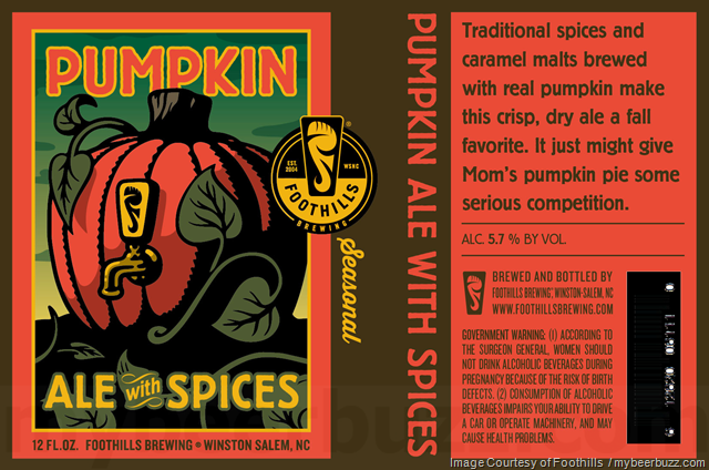 Foothills - Pumpkin Ale With Spices