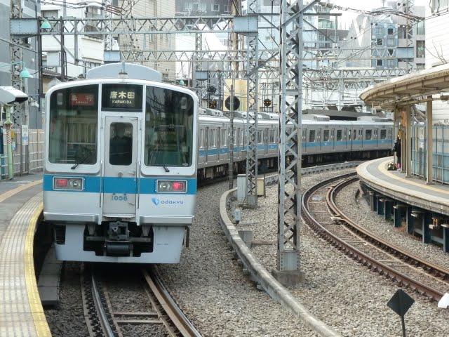 小田急電鉄 急行 唐木田行き1 1000形(東京電力計画停電に伴う運行)