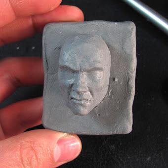 Proceso modelado del rostro