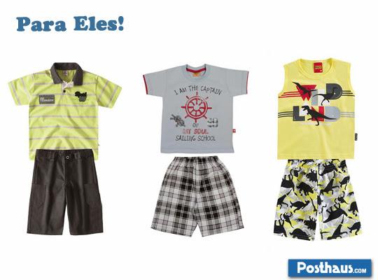 roupas de verão para meninos