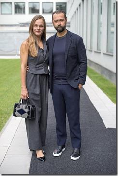 Johanna Hauksdottir e Fabio Volo - SGP