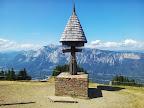 Die Grenzmarkierung von Österreich, Italien und Slowenien