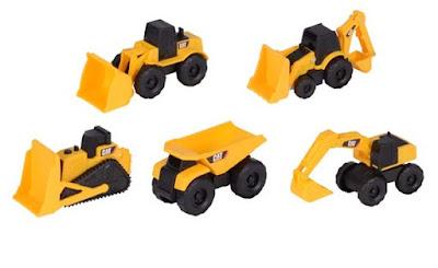 Bộ 5 xe công trình CAT 34601