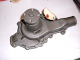 1956-1959 322 Chevy truck pump with gasket . 125.00 exchange.