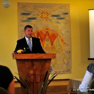 Kõrgema Usuteadusliku Seminari 2011/2012 õppeaasta avaaktus