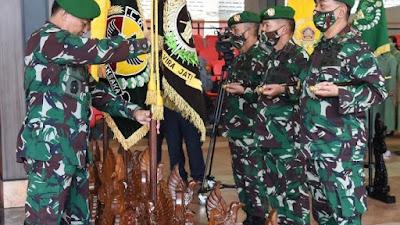 Kasad Pimpin Sertijab 9 Jabatan Pangkotama, Dan Kenaikan Pangkat 56 Perwira Tinggi TNI AD