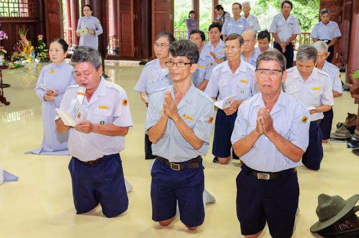 Ban Hướng Dẫn Trung Ương GĐPTVN tổ chức Lễ Thọ Cấp Tấn năm 2015