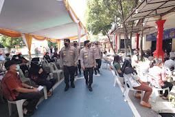 Kapolda Kepri Tinjau Posko PPKM Wilayah Zonah Merah Kota Batam