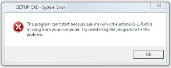 Cách fix lỗi  api-ms-win-crt-runtime-l1-1.0.dll