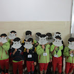 Cat mask activity Sr.KG.(7-11-2016)