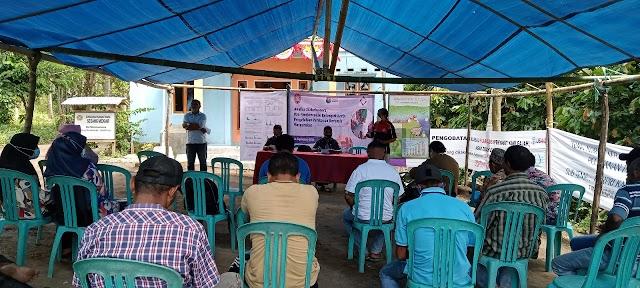 Tananua Dorong Bentuk Kelompok Kerja Pengelolaan Sumber Daya Kelautan dan perikanan di Desa Persiapan Maurongga