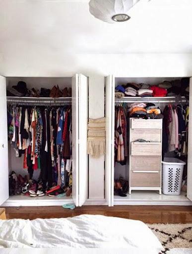 Mách bạn cách biến chỗ bừa bộn thành tủ quần áo gọn gàng-5