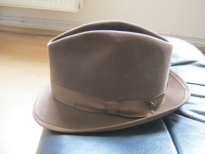 c5f9a63a9 Vintage Chamois Super Barbisio Extra Lusso Size 7   The Fedora Lounge