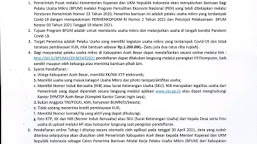 Pandaftaran BPUM Kabupaten Aceh Besar Dibuka, Ini Syarat dan Link Pendaftarannya