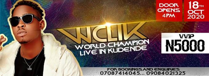 "Kaduna Braces Up For ""WCLIK"" With Hitmaker ""Kissboy Ayo"""