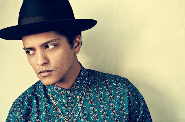 List of Bruno Mars Songs and Album 1