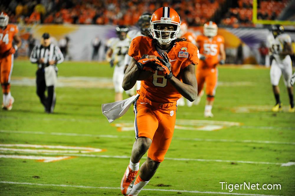 Orange Bowl Photos - 2012, Bowl Game, DeAndre Hopkins, Football, Orange Bowl, West Virginia