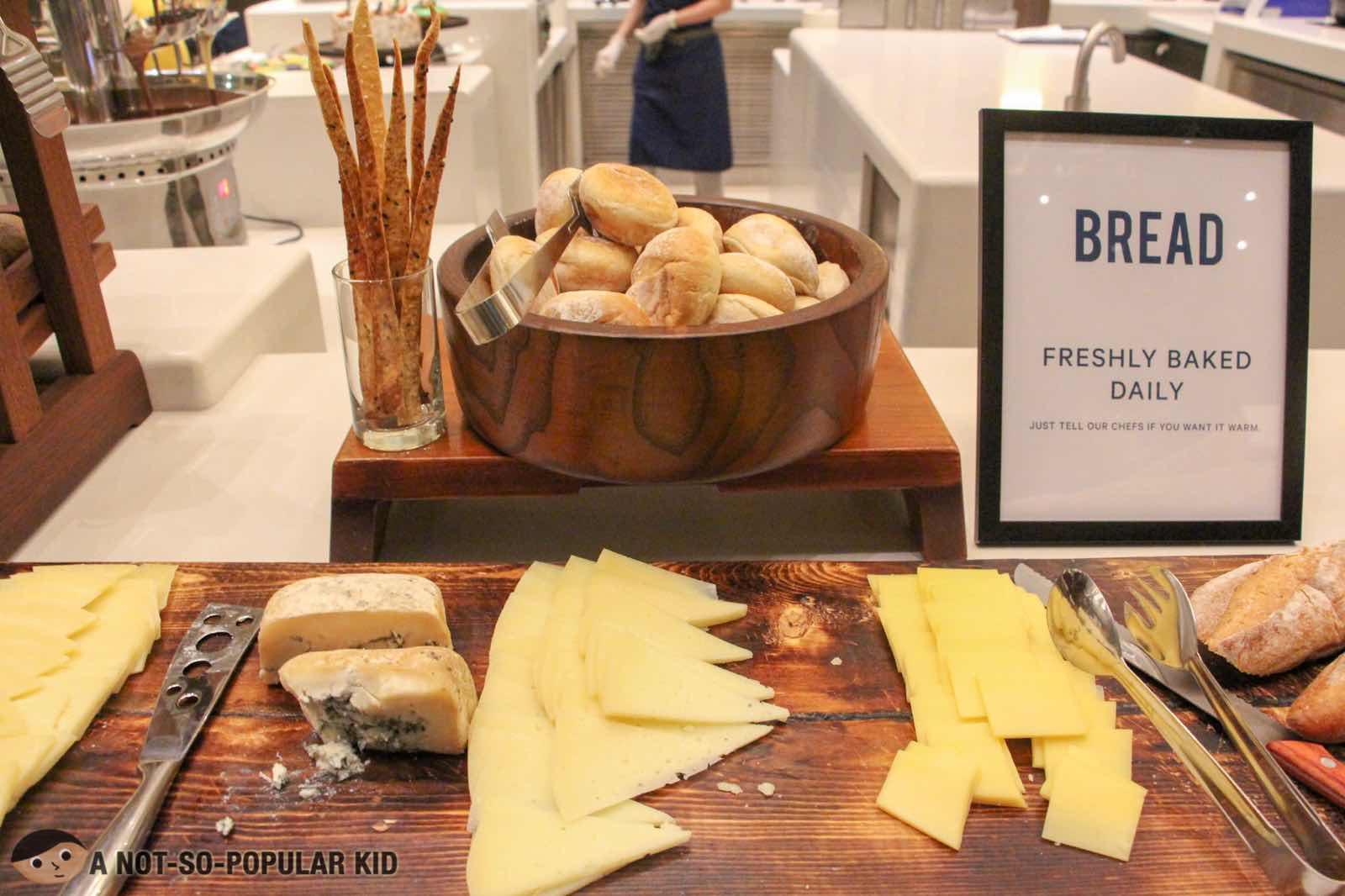 Cheese Station in S Kitchen by Sheraton