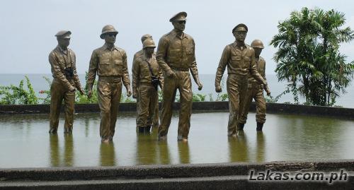 Leyte Landing Site