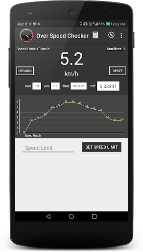 SPEED METER, SPEED TEST APP, SPEED CHECK- techsial 1.6.0.0 screenshots 2