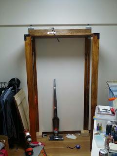 ディアウォールより安い金具で作るウッドシェルフDIY棚