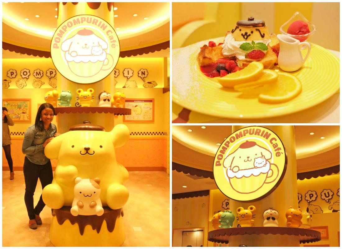 Pom Pom Purin Theme Cafe Tokyo