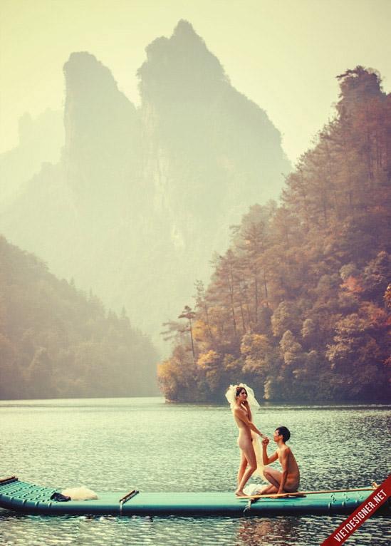 Chụp ảnh cưới nude khỏa thân 18+