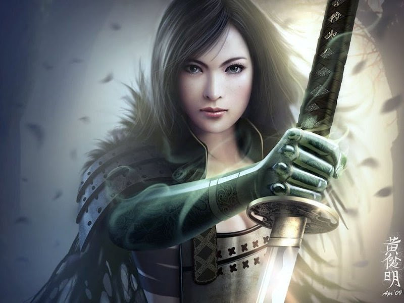 Warrior Of Japan, Magic Samurai Beauties