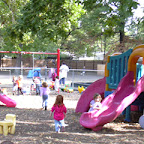 Quality is: providing Playground 3 with sensory rich playscapes-full of color, delightful sounds, surprises, textures and smells opening our Toddlers' eyes to a world of discovery.