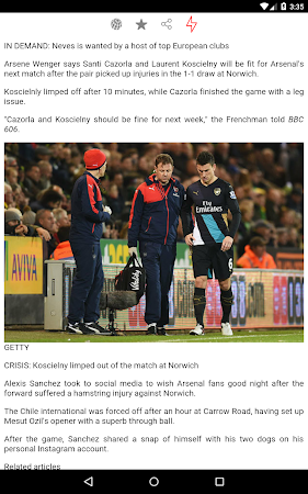 Latest Arsenal News &Transfers 5.6 screenshot 735888