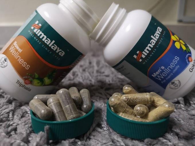 Men's Wellness dan Bowel Wellness Dari Himalaya