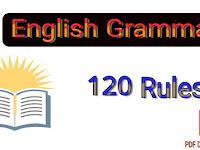 ইংরেজি শেখার জন্য এই ১২০টা Rules-ই যথেষ্ট PDF Download
