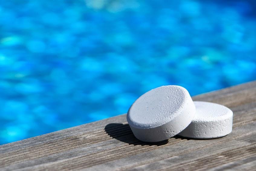 Uso del cloro en la piscina