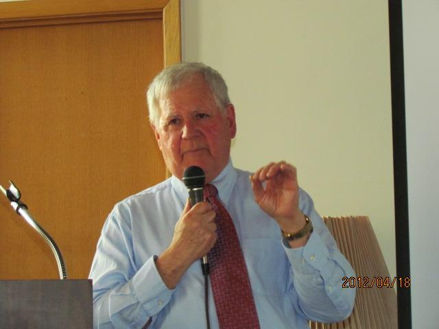 Dr. David Brose, 2012 Apple Island Forum