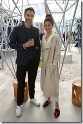 LONDON, ENGLAND - JULY 12: Nick Hopper and Jasmine Hemsley attend the COS celebration of The Serpentine Parks Nights 2017 at The Serpentine Pavilion on July 12, 2017 in London, England.  (Photo by David M Benett/Dave Benett/Getty Images for COS) *** Local Caption *** Nick Hopper;Jasmine Hemsley
