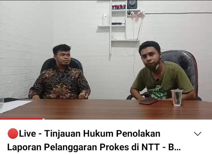 Tinjauan Hukum Penolakan Laporan Pelanggaran Prokes di NTT, Pegiat Hukum: Ada Ketimpangan Hukum
