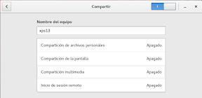 Configurar el sistema. Accesibilidad en Linux y otros. Compartir multimedia.