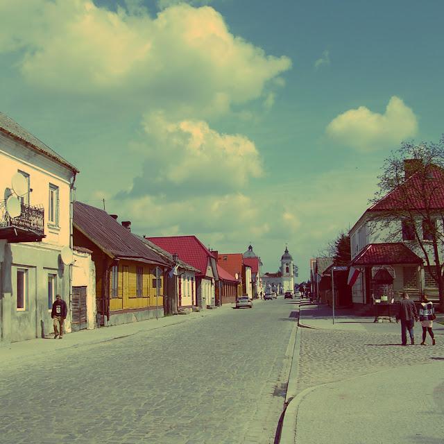 Ulica Złota w Tykocinie