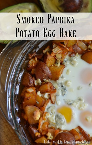 Smoked Paprika Potato Egg Bake[4]