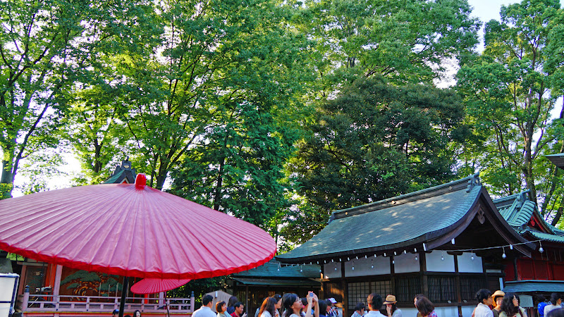 川越氷川神社 風鈴回廊 写真2