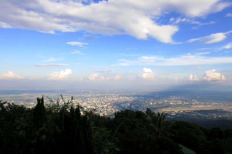 Chiang Mai from Doi Suthep