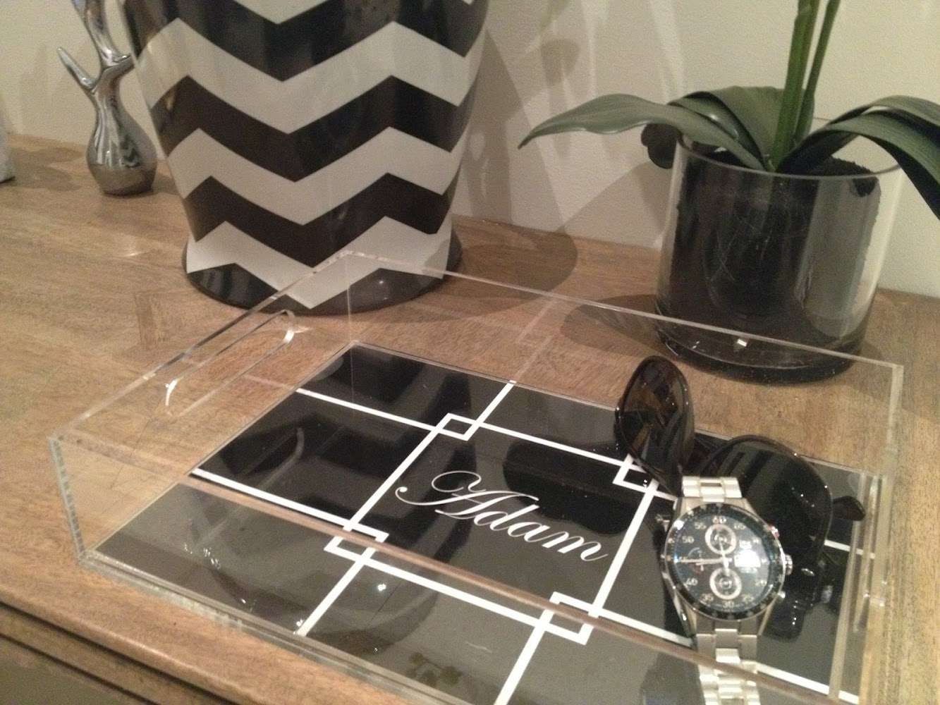 Monday's Inspiration: (Monogram) Personalised trays