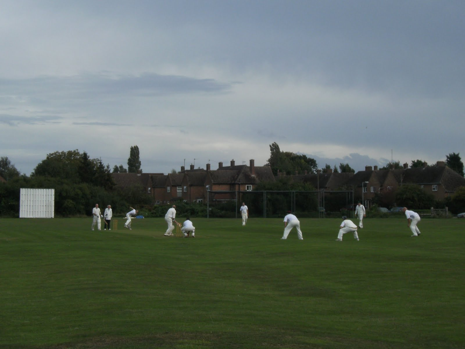 DSCF9486 An undulating cricket pitch at Godmanchester