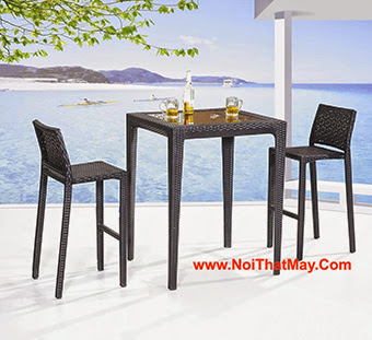 Outdoor Wicker Bar Set Minh Thy 811