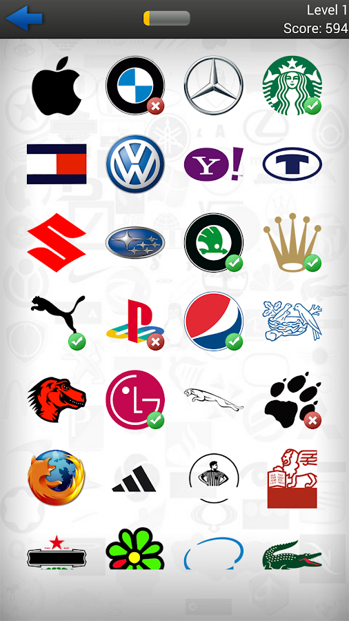 Shops And Stores Quiz Logos