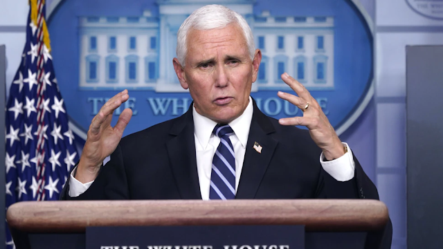 WATCH: Reporters Burst Out Yelling At Vice President Mike Pence
