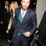 WWW.ENTSIMAGES.COM -   Donna Air and James William Middleton   at      UK store launch of J Crew at 165 Regent Street November 6th 2013                                               Photo Mobis Photos/OIC 0203 174 1069