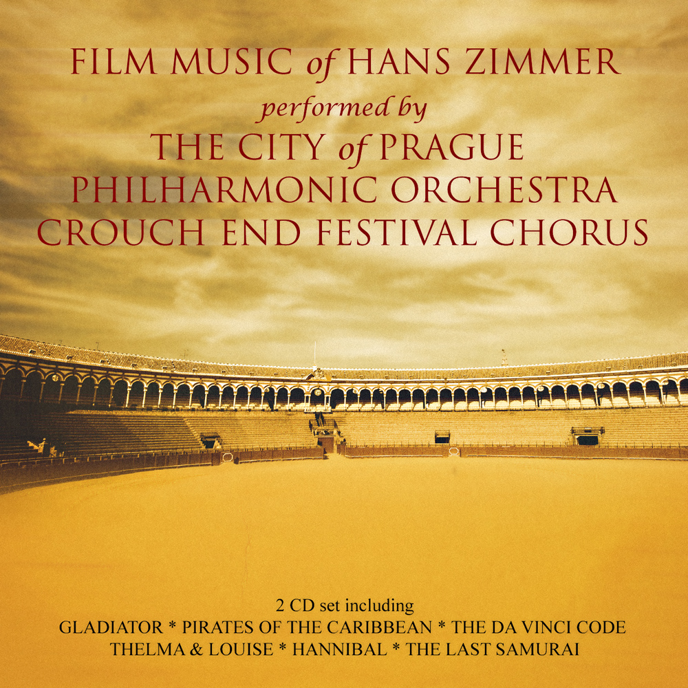 Album Artist: Hans Zimmer / Album Title: Film Music of Hans Zimmer performed by the City of Prague Philharmonic Orchestra Crouch End Festival Chorus