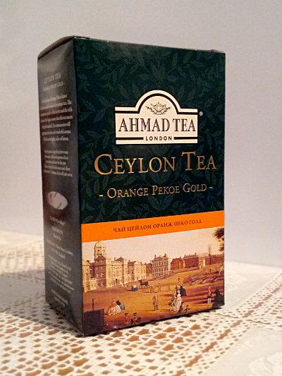 Чай Ahmad Orange Pekoe Gold