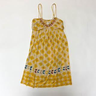 Diane von Furstenberg Linen/Silk Sundress